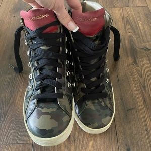 Authentic Dolce & Gabbana High Top Sneakers